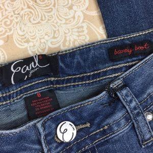 Earl Jeans Jeans - Earl Jeans Barely Boot Cut Jeans